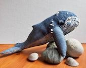 Humpback Whale No. 20 - Soft Sculpture