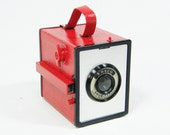 Vintage Box Camera RED Ansco