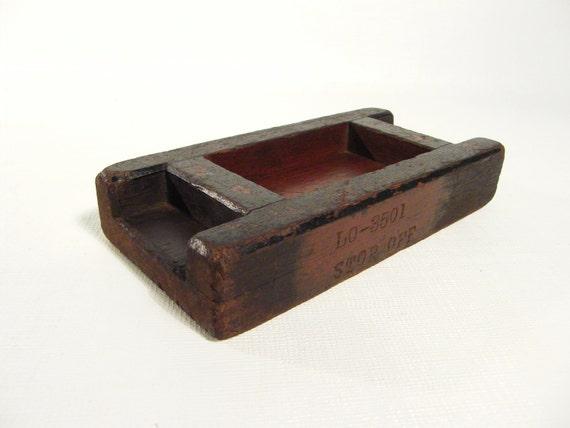 antique wooden mold