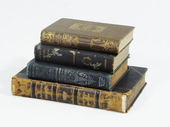 Distressed Antique Books