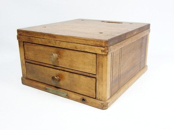 Antique Cash Register Box
