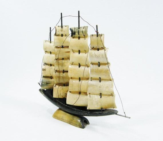 Mod Steer Horn Sailing Ship