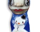 "Holiday Imp -- ""Snowman"" by Potbelly Bears"