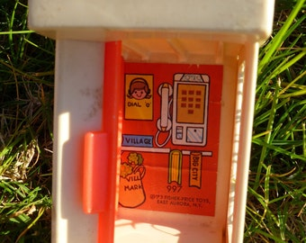 1973 Fisher Price Phone Booth