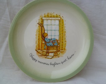 Holly Hobbie Large Collector Plate