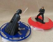 SALE  Star Wars Cake Decoration Kit - Darth Vader vs Luke Skywalker