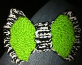 Zebra Envy Large Hair Bow --SPECIAL INTRO PRICE--
