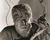 The Wolfman - Vintage Movie Still - Monster - Lon Chaney Jr  -  8 x 10