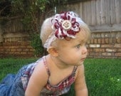Large Texas A and M Flower Loop Bow 15% off with coupon code TAKE15