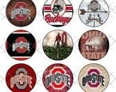 Ohio State Buckeyes 1inch Digital Image Collage
