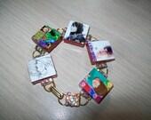Justin Bieber  Bracelet  with Swarovski crystal elements