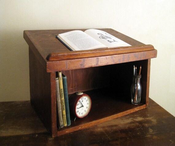 Excellent Quickway Imports Antique Wood Desk Organizer  Wayfairca