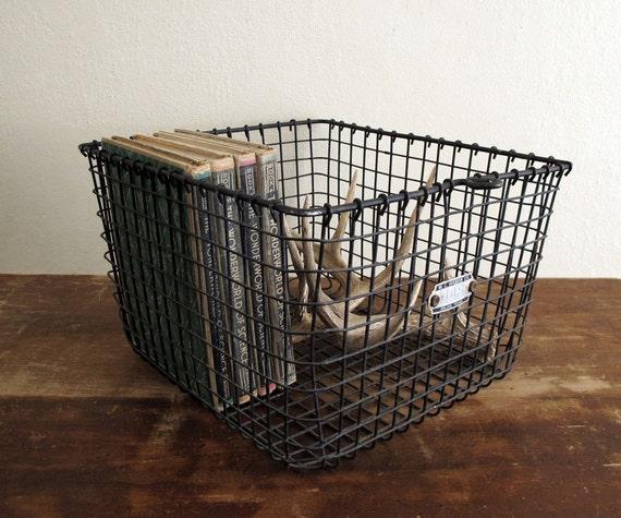 Vintage Locker Basket