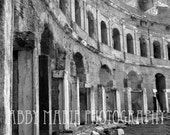 Ancient Roman Market - 4x6 Fine Art Print - Rome Italy - Ancient Shopping Mall - Amazing Quality - Free Shipping