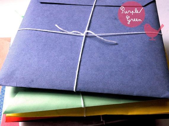 Green paper ephemera pack - paper ephemera, paper scraps