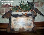 Grungy Primitive Witches' Cauldron