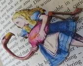 Vintage Alice in Wonderland necklace