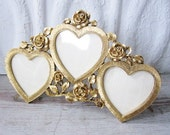 Triple Heart Picture Frame