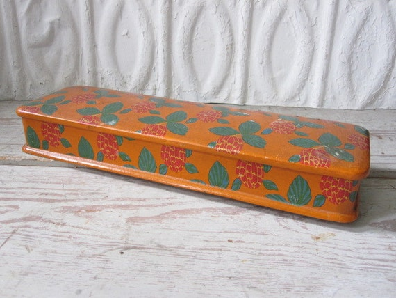 Hand Painted French Glove Box