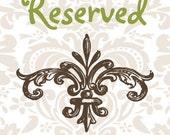 Reserved Listing for Allison