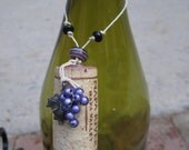 Wine Cork Ornaments, FREE SHIPPING