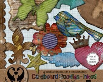 Cardboard Goodies - Inked, Digital, PU CU S4H S4O