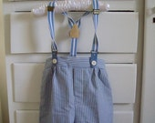 Vintage Boy's Pants With Suspenders