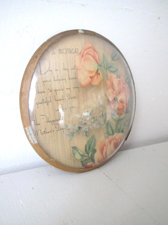 Vintage Mother's Day Wall Hanging
