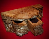 Natural Edge Jewelry Box