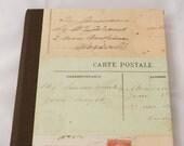 Vintage inspired Travel Address Book