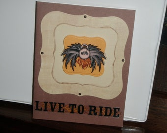 Motor Cycle Card All Occasion