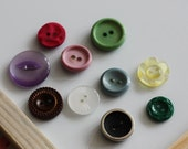 10 Mixed Vintage Super Strong Magnets