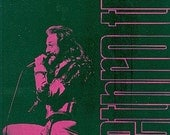 JETHRO TULL 1977 CONCERT TOUR FOLDOUT POSTER/PROGRAM