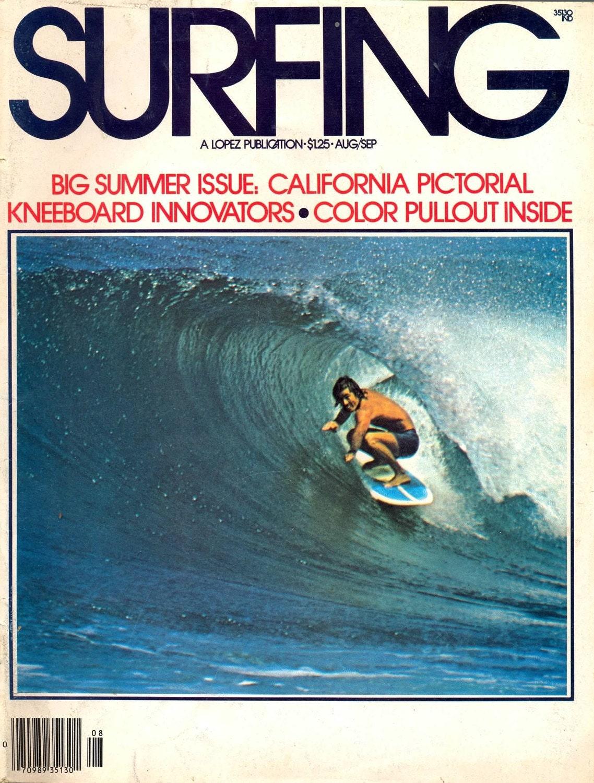 VINTAGE SURFING MAGAZINE VOLUME 12 NO. 4 1976 by LunadaSurf