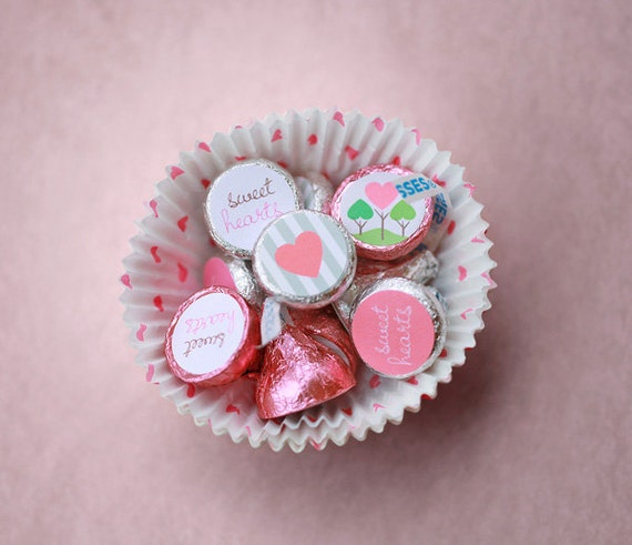 Valentine's Printable Hershey's Kiss by caramelexpressions ...
