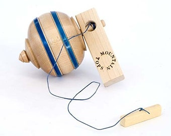 Toy Top Childrens Spinning Wood Top
