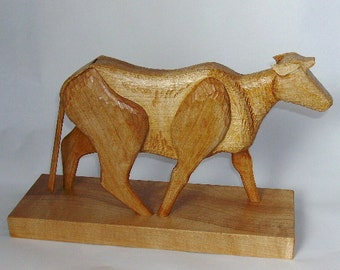 Aeolian Cow  Wind Whistle Sculpture