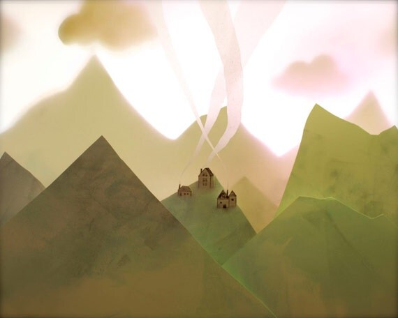 On that small hilltop in the mountains, their lives were intertwined.