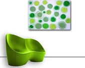 Reserved for LA - GREEN DAY original abstract painting