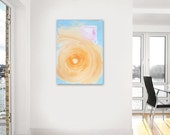 BLACK FRIDAY SALE Sale - HoT Fun - original abstract modern painting - gallery fine art - contemporary interior design - ooak home wall dec