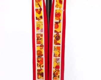 Clergy Stole--Red Liturgical Stole for Pentecost, Ordinations, Installations, Commissionings