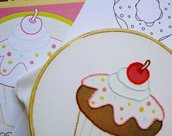 Sweet Shoppe PDF Embroidery Pattern
