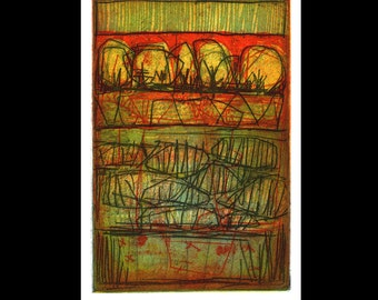 Water table color etching