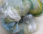 Breaker eco dyed and recycled art batt fibre