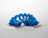 Turquoise Paper Garland Locket