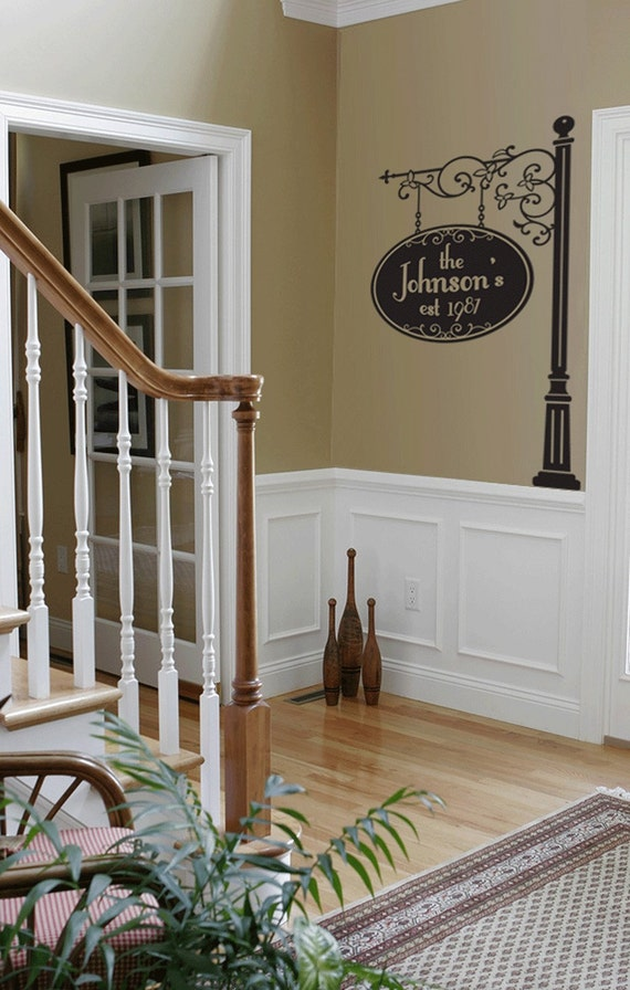 Unavailable listing on etsy for 2 story foyer decor