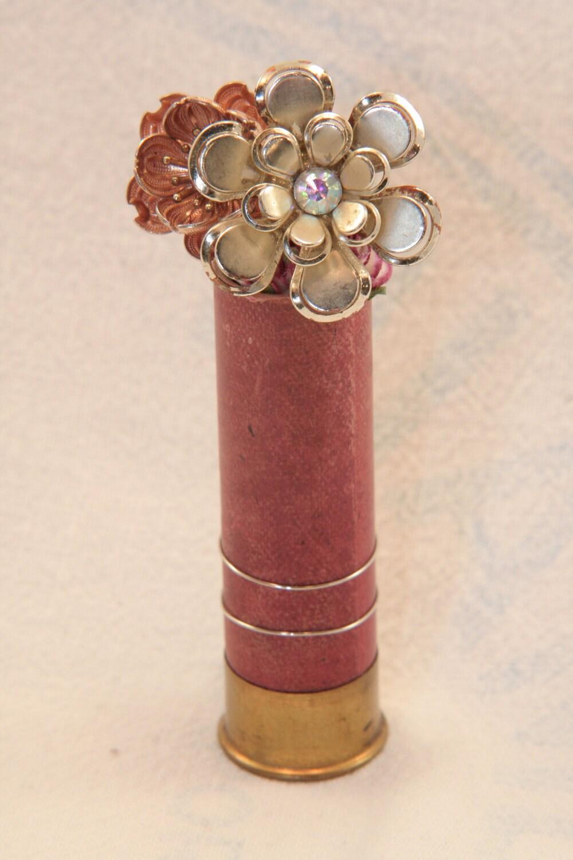 Shotgun Shell Vintage Handmade Boutonniere Ready To Ship