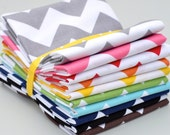 IN STOCK Riley Blake House Designer Chevron Zig Zag 10 Fat Eighth Bundle
