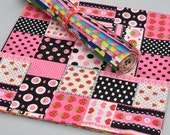 """Lecien Lovely Punch 2012 Collection 13 Piece Fabric 10"""" Square Layer Cake"""