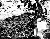 Day Job - 8x10 Black and White Print